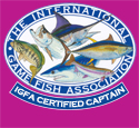 The International Game Fish Association Certified Captain Peter Rans
